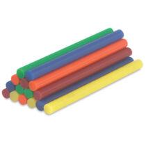 Ragasztórudak különböző színekben 25 db